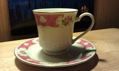 Fine Bone ChinaVintage Teacup and by CherylsGoodStuff on Etsy, $12.00