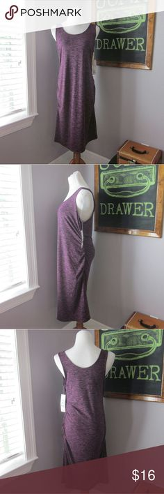 Maternity Tank Dress LG NWT Perfect for summer! Lightweight and super stretchy.   BUNDLE your likes and shoot me and OFFER! Glad to negotiate. Hundreds of items available for discounted bundle offers! Dresses Midi