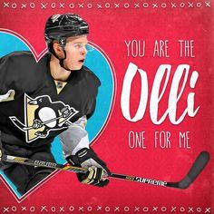 2016 Pittsburgh Penguins Valentines - Olli Maatta - Pittsburgh Penguins