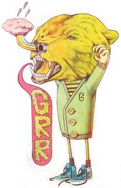 GRRRRRRRRR!!!! | illustration by Giuseppe Modica