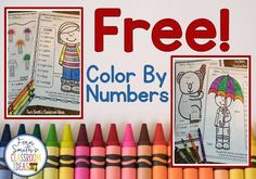 Your students will adore these FREE Color By Numbers worksheets for a mixed basic fact introduction or review. Multiplication, addition, subtraction, and division are all included for your students to learn and review important skills at the same time as having fun in YOUR classroom! You will love the no prep, print and go Color Your Answers Worksheets for addition, division, subtraction, and multiplication with all ANSWER KEYS Included with this FREEBIE!