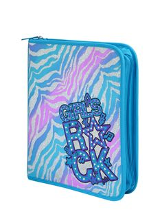 Cool Zebra Initial 3-Ring Binder | Backpacks & School Supplies | Accessories | Shop Justice