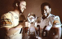 Ben Roethlisberger and Jerome Bettis