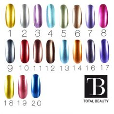 Les Gels Chromes #nail #nailart #gelchrome #chrome #totalbeauty #totalbeautych Nailart, Water Bottle, Chrome, Beauty, Eyebrows, Makeup, Products, Water Flask, Water Bottles