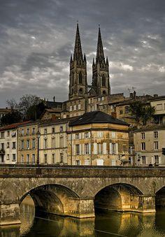 Notre-Dame desde el Sèvre, Niort (France)