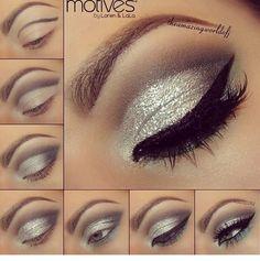 Sparkle Smokey Eyeshadow