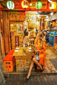 6 Tokyo Nightlife Experiences to Try Japanese Restaurant Interior, Tokyo Restaurant, Japan Interior, Japanese Bar, Tokyo Travel, Tokyo Trip, Japan Trip, Noodle Bar, Japan Street
