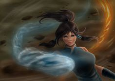 Avatar Korra 🌸 Photoshop Drawing