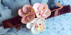Handcrafted Cherry Blossom Headband, Cherry Blossom Hair Bow, Sakura on Etsy, $22.50