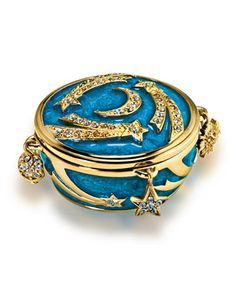 Limited Edition Celestial Charms Sensuous Nude Solid Perfume Compact by Estee Lauder