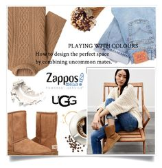 """Camel Street by UGG"" by heyra ❤ liked on Polyvore featuring White Label, MaxMara, UGG Australia, Levi's, UGG, ugg and contestentry"
