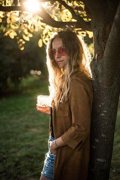 ♥︎ Kesäunelmia ja Stella Mos Moshin nahkamekossa.