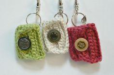 Crocheting: Crochet Coin Purse Key Holder