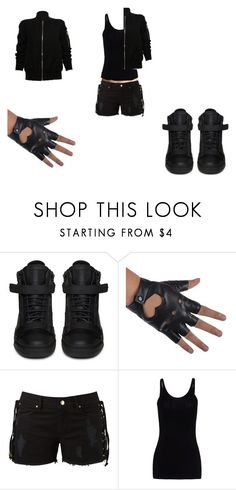 """nfu"" by internationalbaby2 ❤ liked on Polyvore featuring Levi's, Giuseppe Zanotti, Amapô, T By Alexander Wang and Rick Owens"