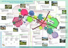 Urban Design Concept, Urban Design Diagram, Urban Design Plan, Tropical Architecture, Landscape Architecture Design, Urban Analysis, Site Analysis, Bubble Diagram, Concept Diagram