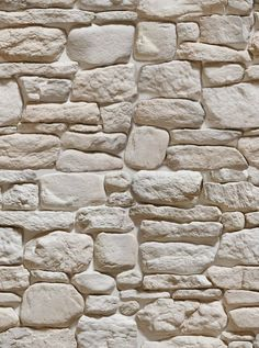 6 SHEETS self adhesive paper stone wall by Fake Stone, Brick And Stone, Stone Work, White Stone, Stone Walls, Stone Cladding, Wall Cladding, Stone Facade, Textures Murales