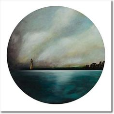 Homecoming III. Limited edition art print by Juliet Best. Lighthouse. NZ