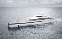 Venus, Steve Job's yacht :: Steve Jobs + Phillippe Starck
