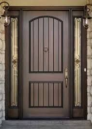 Rustic Door Knotty Alder Door Door With Wrought Iron Wood Door Castle Sty
