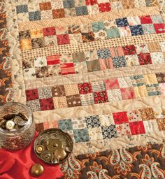 Code: ISBN: 9781604680577 Author: Carol Hopkins Step back in time with 15 favorite patchwork-quilt patterns from the Civil War Legacies collection by Carol Hopkins. Each pattern design features classic blocks evocative of the era, beautifully show Mini Quilts, Old Quilts, Scrappy Quilts, Easy Quilts, Small Quilts, Patch Quilt, Quilt Blocks, Quilts Vintage, Antique Quilts