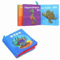 Soft-Cloth-Educational-Intelligence-Development-Learn-Cognize-Book-For-Kids-Baby