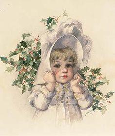 Little Girl in Bonnet -Maude Humphrey
