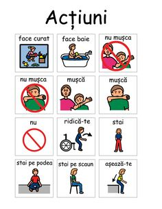 PECS - Resurse multimedia – terapie in autism Social Skills Activities, Autism Activities, Pec Cards, Pecs Communication, Pecs Pictures, Romanian Language, Social Stories Autism, Vip Kid, Autism