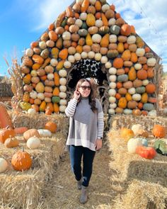 """✨EVERY DAY IS A HOLLYDAY✨ on Instagram: """"I see lots more pumpkins in my future! @jackspumpkinpopup is now open for the season! Sebastian and I went to check out all the pumpkin…"""""""