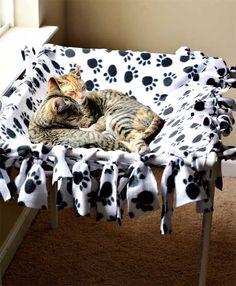 Construa para o seu gato! Você gastará somente canos de PVC, conectores de PVC e…