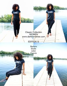 Dark Hand black Tshirt for women #Style from: www.darkhandwear.com