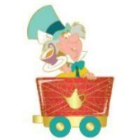 Pin 96161 DSF - Alice in Wonderland Train - Mad Hatter