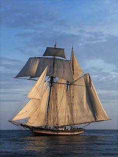 Beautiful Sailing Ship. #sailing #ships