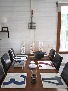 1000 images about nautical kitchens on pinterest for Nautical kitchen table