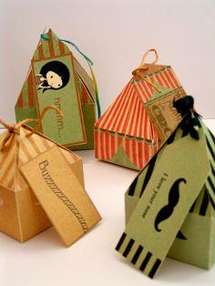 Cajitas de cartón con encanto |
