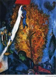 El Árbol de la Vida - Marc Chagall (1933). Está en mi salón.