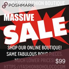 ❣️ MASSIVE SAVINGS! ❣️ 💜 Use Discount Code: POSHBOHO for 15% OFF ALREADY REDUCED PRICES! 💜 Additional VIP Personalized Lifetime Discount Code with Thank You card accompanying your 1st order! Good for 25% OFF EVERY FUTURE ORDER at Boho Loco Fashion Boutique! 💜 Free People Dresses Strapless