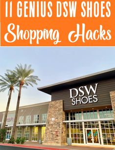DSW Shoes Hacks - How to Get Deals on Boots, Heels, Flats, Sandals and Sneakers! 11 Genius Tricks to Save BIG! Store Hacks, Shopping Hacks, Life Hacks Every Girl Should Know, Dsw Shoes, Buy Clothes Online, Ways To Save Money, Money Tips, Saving Money, Saving Tips
