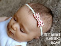 I have mixed feelings when it comes to accessorizing baby girls.  About the time I had my first baby the ginormous flower/bow baby headba...