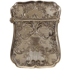 1stdibs - Engraved American Coin Silver Calling Card Case explore items from 1,700  global dealers at 1stdibs.com