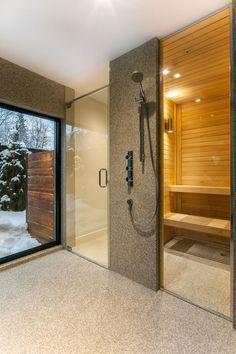 Szauna otthon - fürdő / WC ötletek