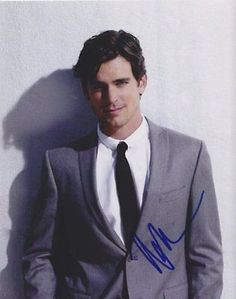Matt Bomer Autographed Signed 8X10 Photo COA 'White Collar'