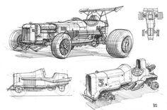ArtStation - Off-roader Sketches, Braydan Barrett