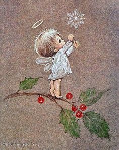 """Little Christmas Thoughts"" ... Vintage 1975 ... ©Ruth Morehead [1926-2004]"