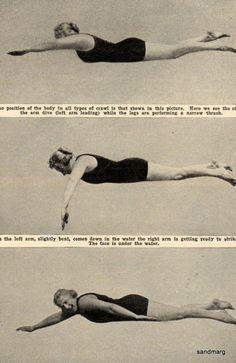 1922 How to Swim