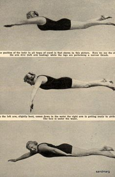 1922 How to Swim