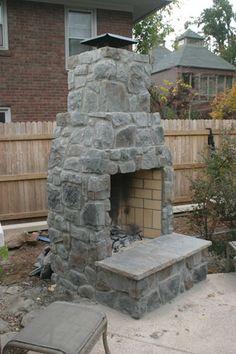 Kodiak Custom Masonry, Tulsa Brick Works | Outdoor Fireplaces | Outdoor Kitchens | Linnaeus Garden Outdoor Fireplace & Kitchens | BBQ Hardware