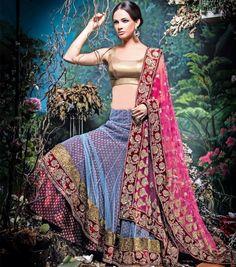 Wedding-Bridal-Occasional-Wear-Lehenga-Choli-Dress-Anarkali-Frock-New-Fashion-Outfits-1