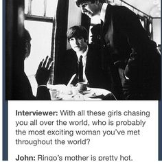 """This reminds me of the """"Johns wife"""" interview."""