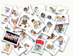 En esta webwww.myenglishimages.com he encontrado multitud de flashcards para trabajar el vocabulario. Puedes descargar gratuítamente el vocabulario de: – ANIMALES(ANIMALS) – TAREAS DOMÉSTICAS(CHORES) – PRENDAS DE VESTIR (CLOTHES) – COLORES (COLORS) – VERBOS COCINAR(COOKING VERBS) – PALABRAS QUE USAMOS PARA INDICAR CANTIDAD (COUNTERS) – PAISES DEL MUNDO(COUNTRIES OF THE WORLD) -SENTIMIENTOS/EMOCIONES (FEELINGS) – PELO/PEINADOS (HAIR) …
