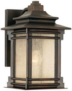 """Franklin Iron Works Hickory Point 12"""" High Outdoor Light -"""